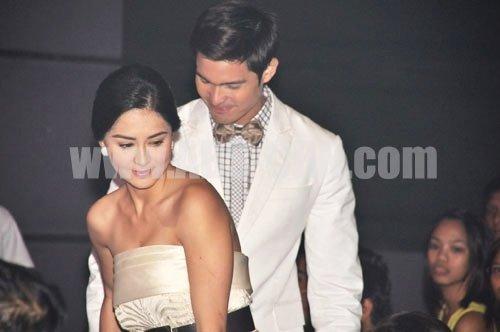 Pinoy Hunks: Dingdong Dantes with the Pretty GF