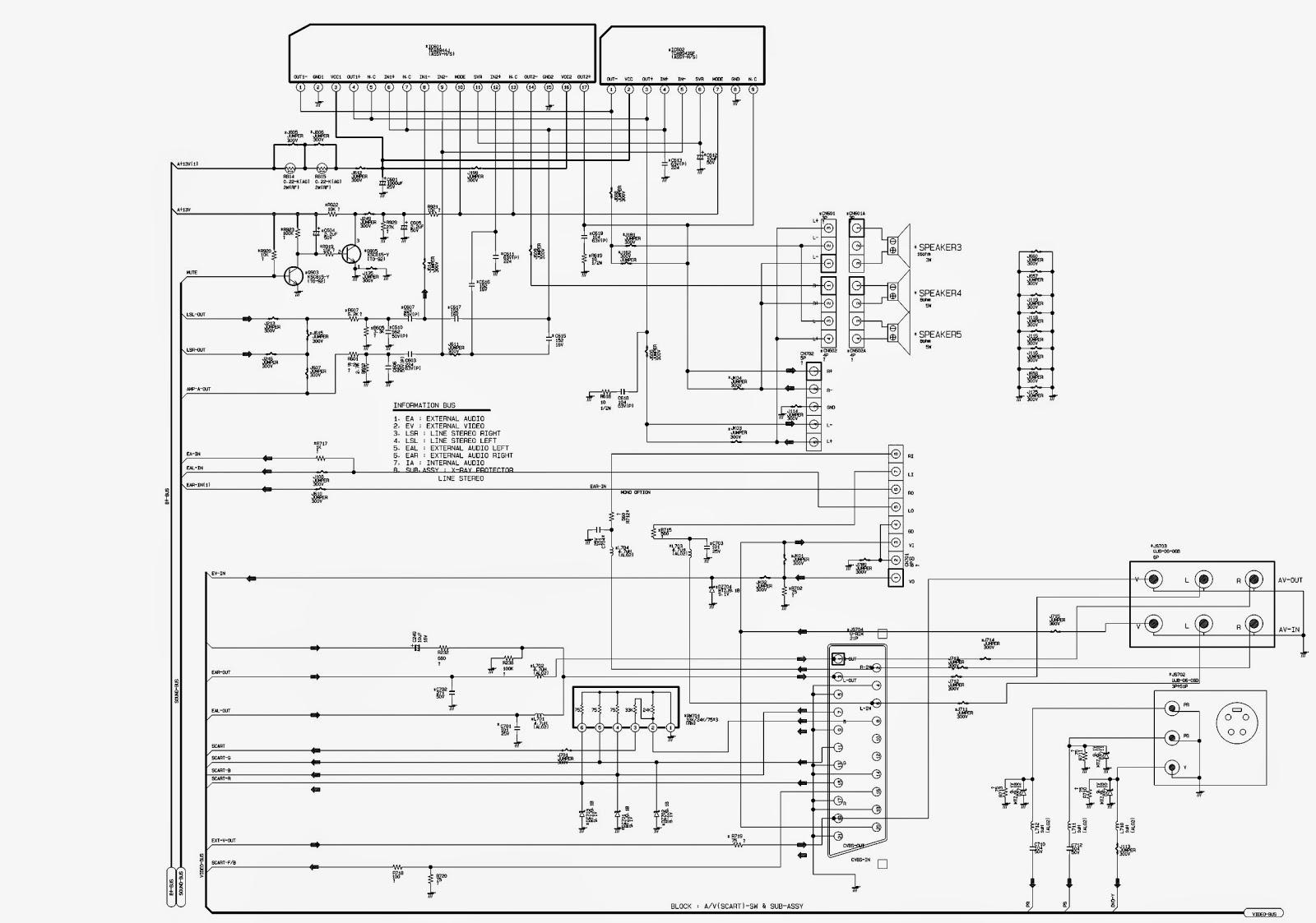 Samsung Cb21k40 Schematic Diagram