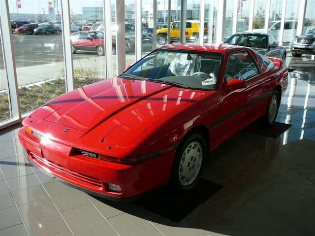 Canadian Toyota Dealer still has a Brand New 1990 Supra For Sale in his Showroom !