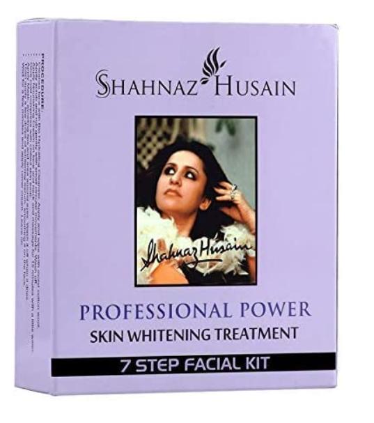 Shahnaz Husain 7 Step Skin Whitening Treatment Facial Kit, 63g