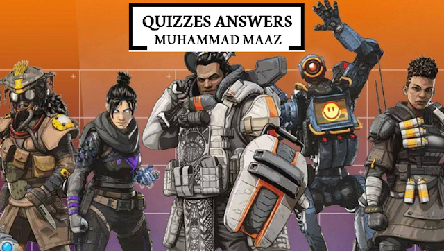 Apex Legends Quiz Answers - By Quizzes Answers - Solve and Get Exciting Rewards