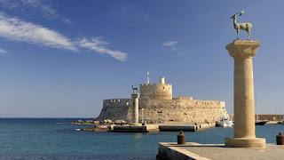 El puerto de Rodas fue arruinado por Delos