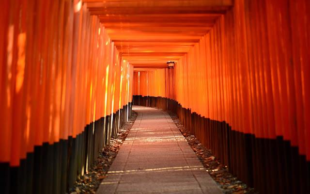 gerbang fushimi inari kyoto