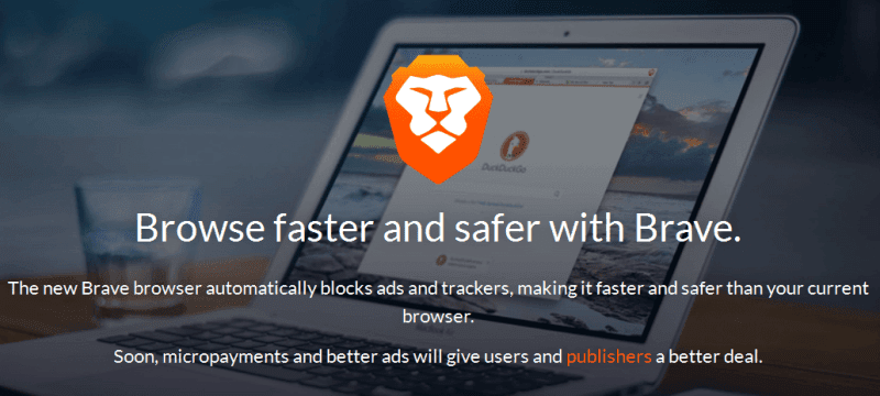 Download Brave: Browse Faster and Safer with Brave