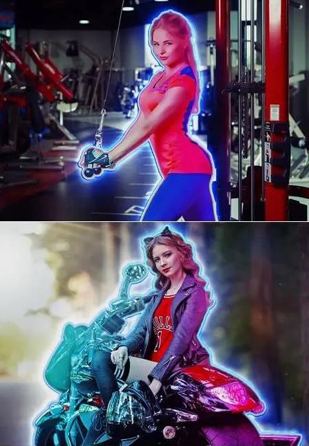 Neon Glowing Effect Photoshop - Tạo Hiệu Ứng Đèn Neon Đẹp