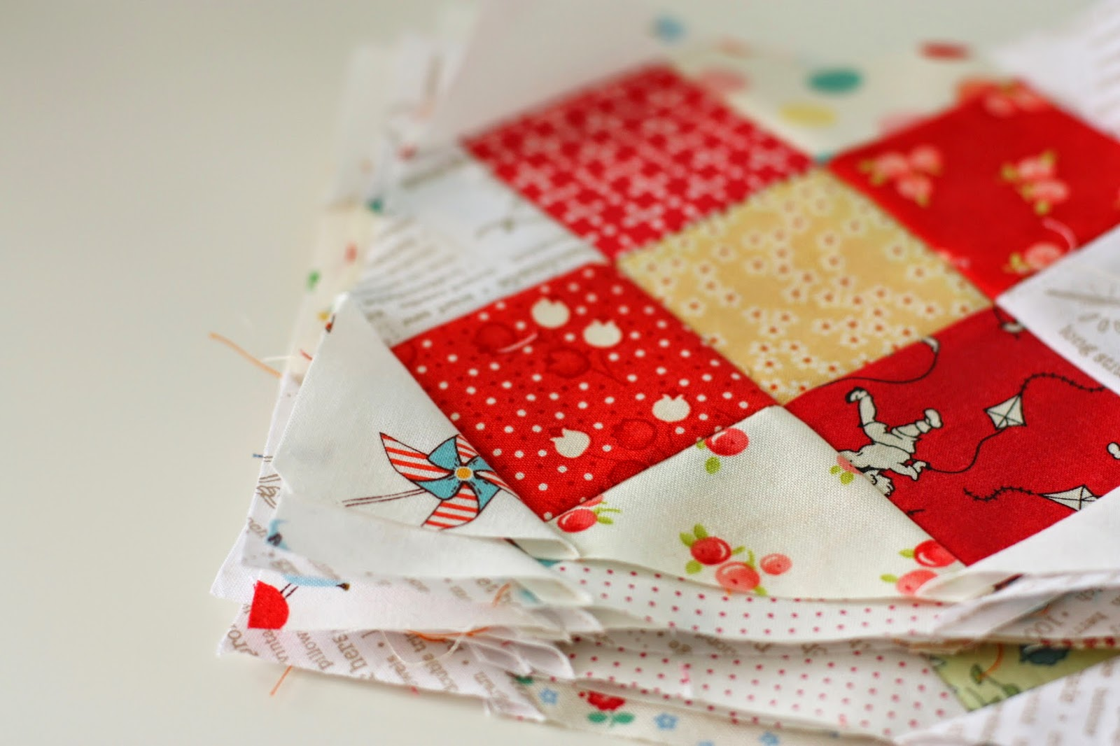 Great Granny and Churn Dash Quilt Alongs - Diary of a Quilter - a ...