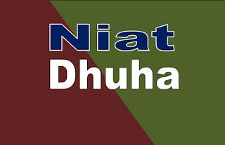 Niat Sholat Dhuha