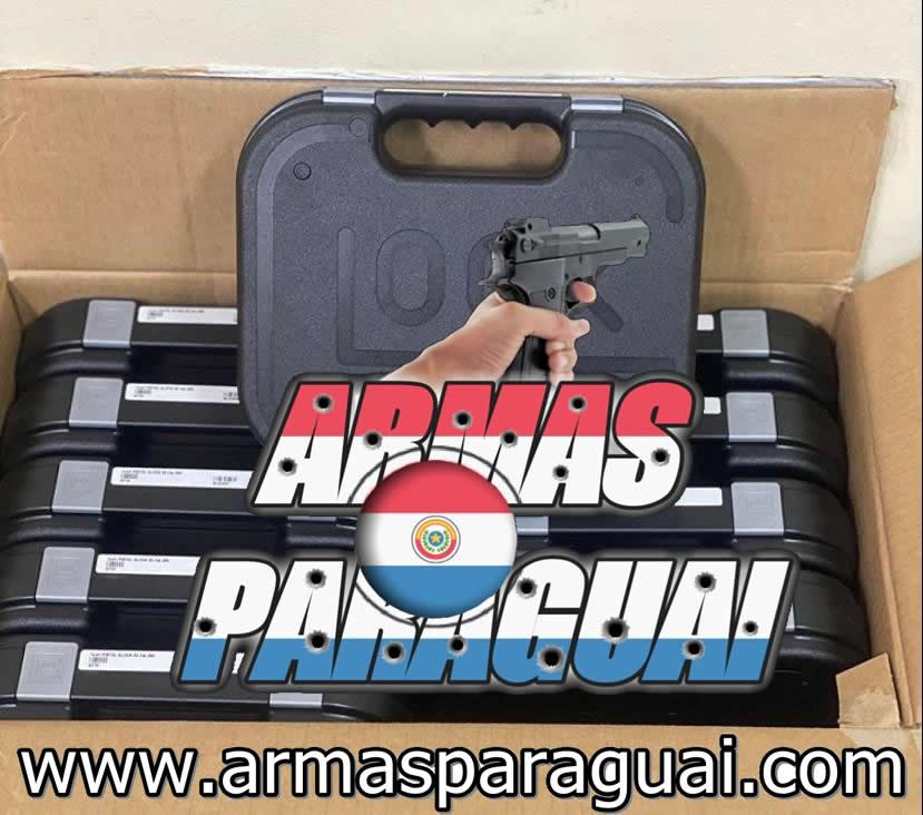 Vendo armas de fogo sem burocracia pela internet direto do paraguai