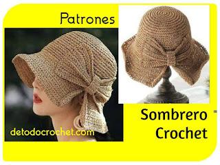como-tejer-sombrero-crochet