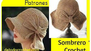 Sombrero Elegante a Crochet | Dos Versiones | Patrones