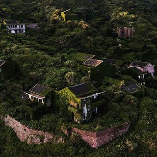 Opuszczona wioska widmo