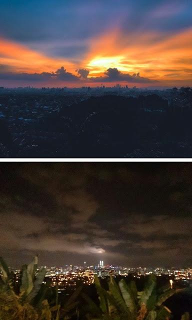 Bukit Ampang pemandangan sunrise