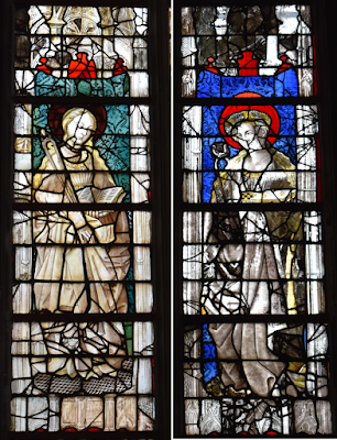 Sainte Apolline vitraux de Saint-Maclou de Rouen