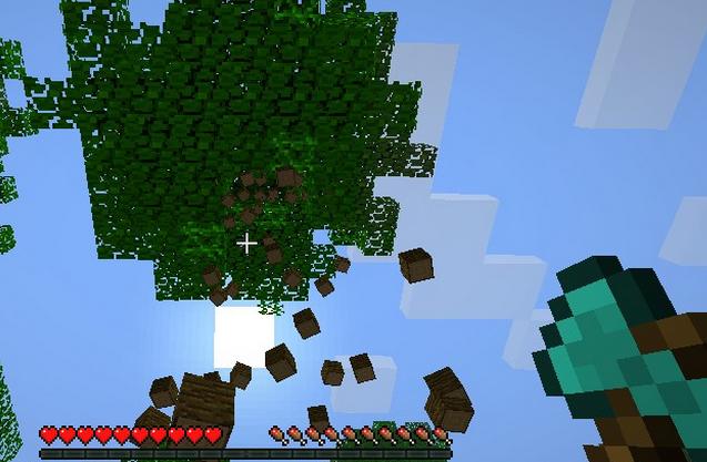 Treecapitator mod砍樹模組 [單人/多人] - Minecraft 我的世界當個創世神各種介紹
