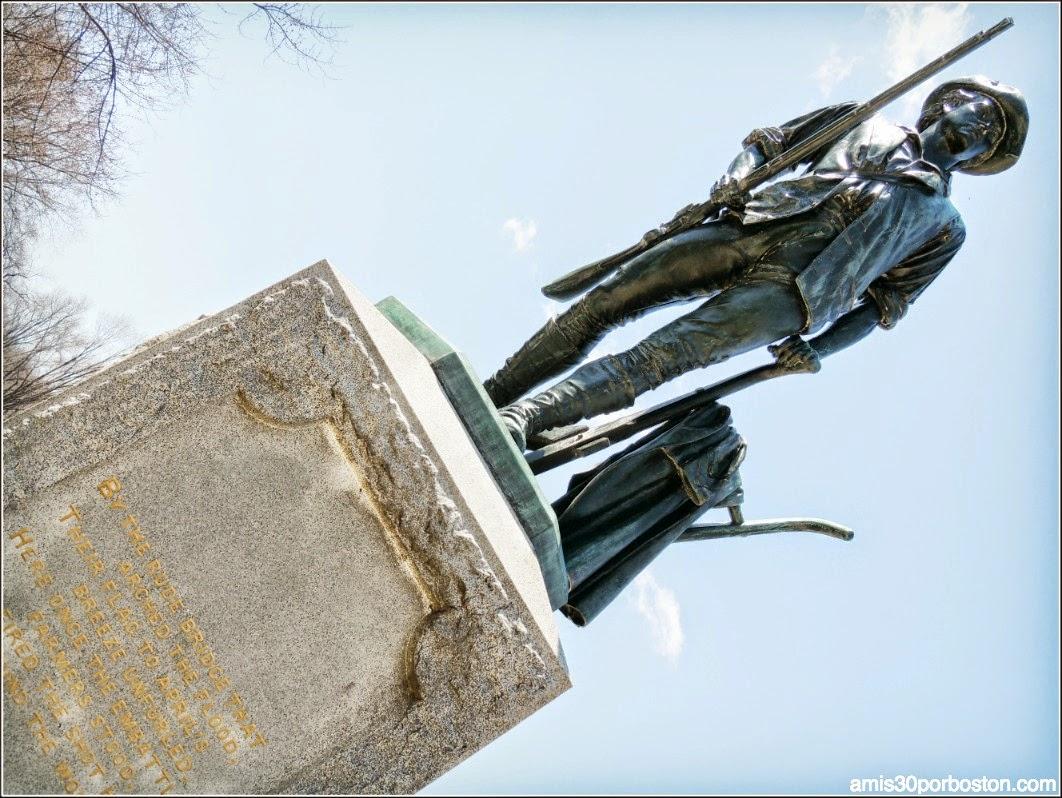 Patriots´ Day en Concord: Minute Man