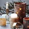 Χριστουγεννιάτικες Κατασκευές με Φλοιό Σημύδας