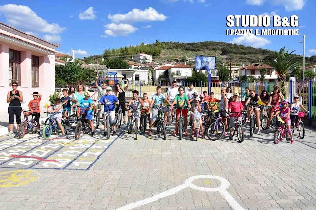 Ποδηλατάδα με συμμετοχή μικρών και μεγάλων στα Πυργιώτικα (βίντεο)