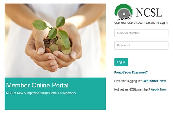 ncsl online login