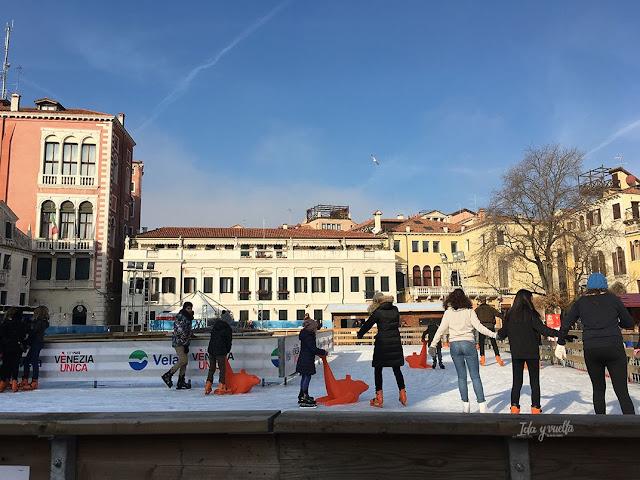 Venecia fotos patinaje