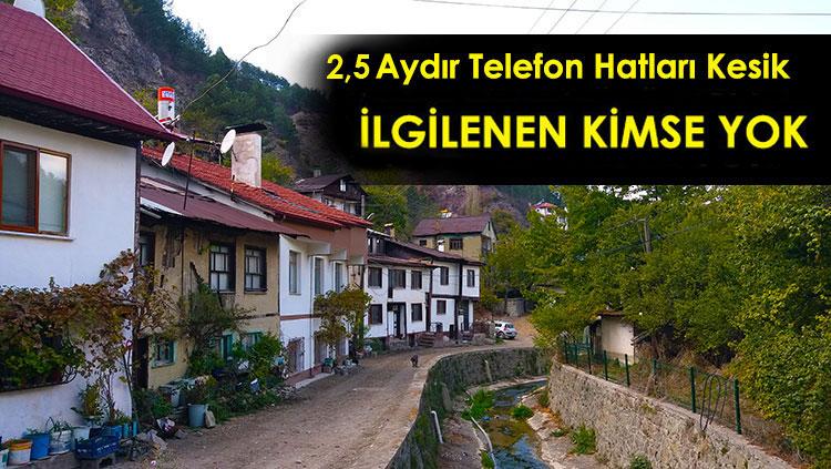 Şehrin Göbeğinde 2,5 Aydır Telefon ve İnternet Yok