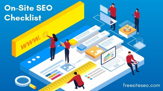 Great On-Site SEO Checklist 2019