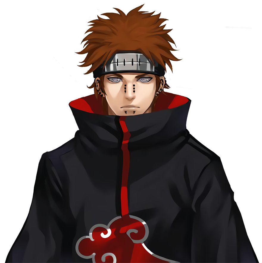 Pain render [Pockie Ninja] by  Maxiuchiha22