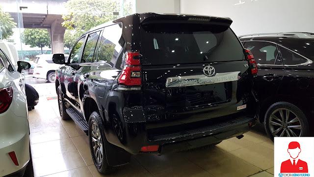 Giá xe Toyota Land Cruiser 2018 ảnh 12