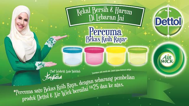 "Peraduan ""Jom Sertai Bengkel Kuih Raya Eksklusif bersama Chef Anis Nabilah"""