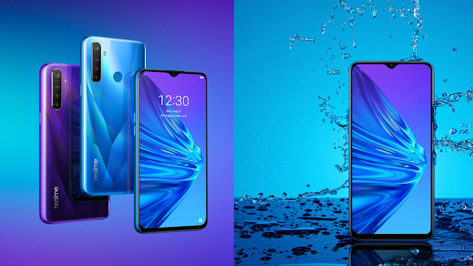 Realme 5 With Quad Camera & Splash Resistance