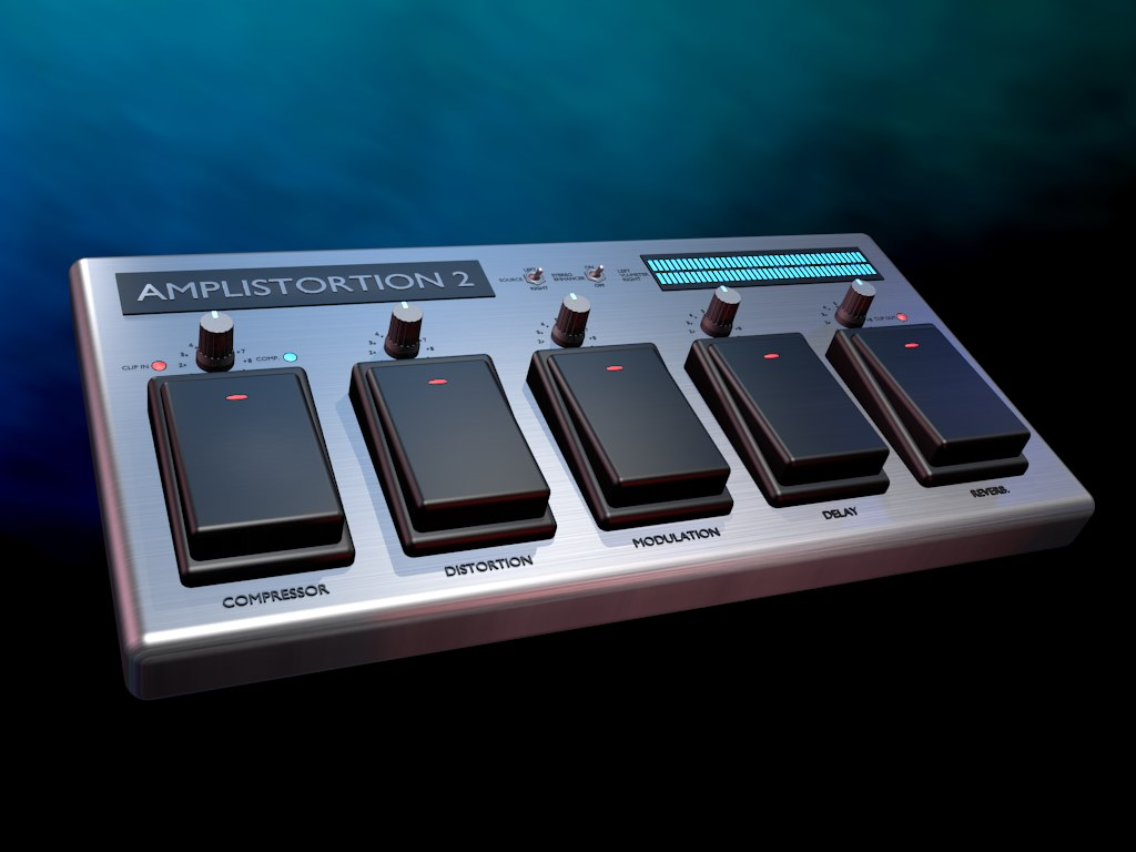 Amplistortion 2 Guitar multi-effects with Amp Simulator Download