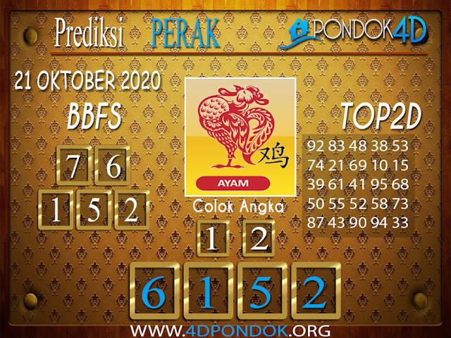 Prediksi Togel PERAK PONDOK4D 21 OKTOBER 2020