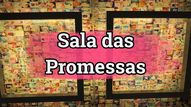 Os milagres da fé na Sala das Promessas