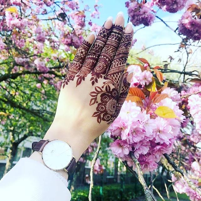 arabic mehndi designs for Rakshabandhan