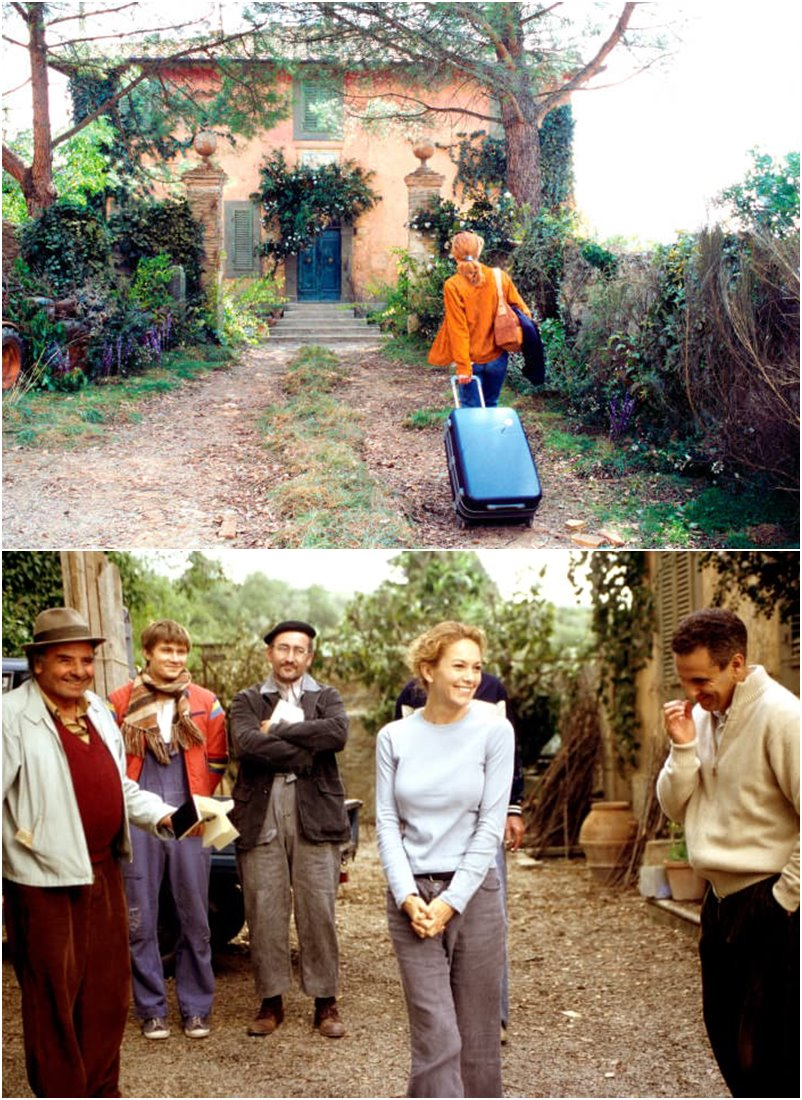 Sob o sol da toscana filme romântico com o melhor da Itália