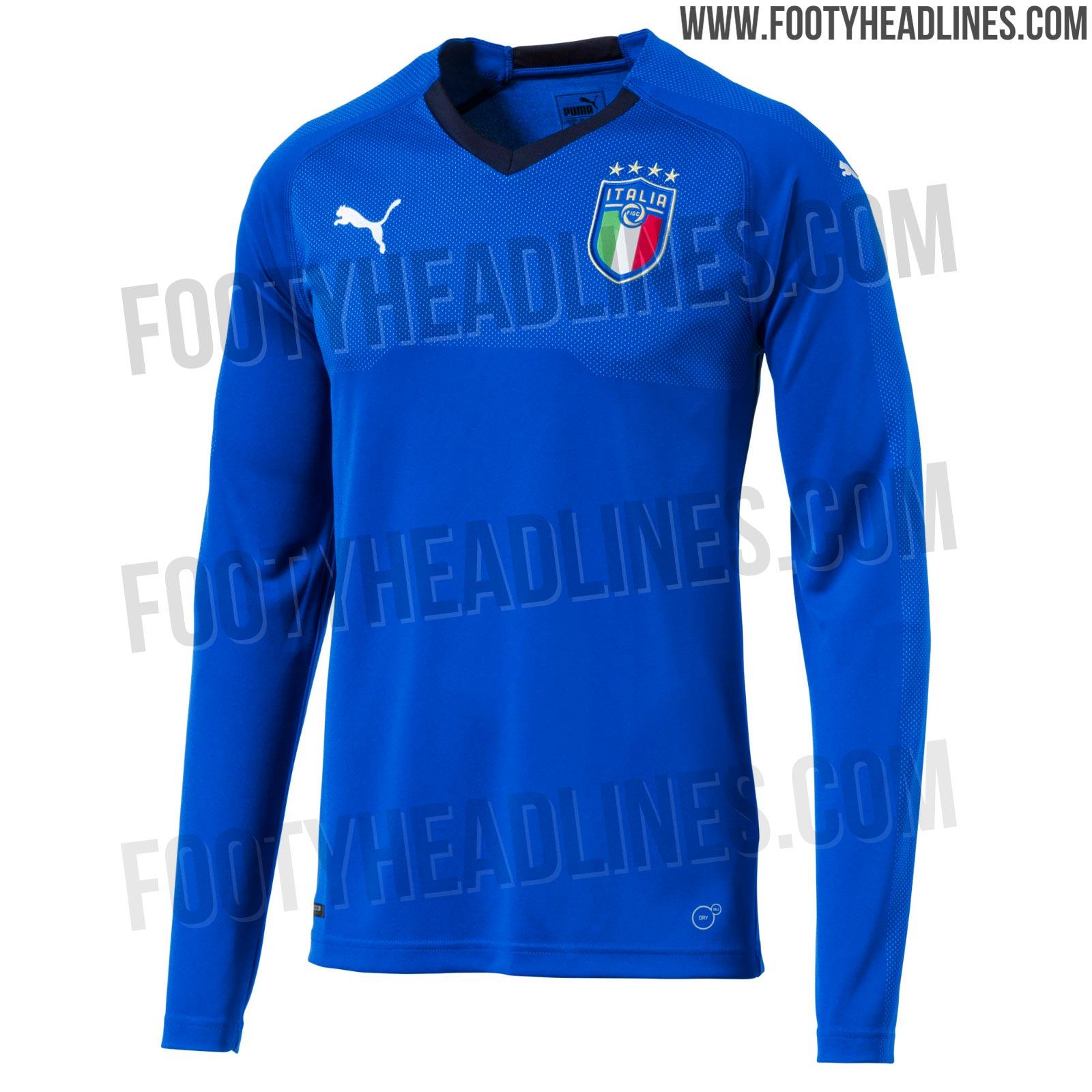 All new italy 2018 national team logo revealed footy for Italian kit