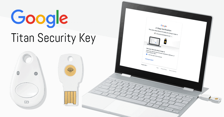 google titan security key fido