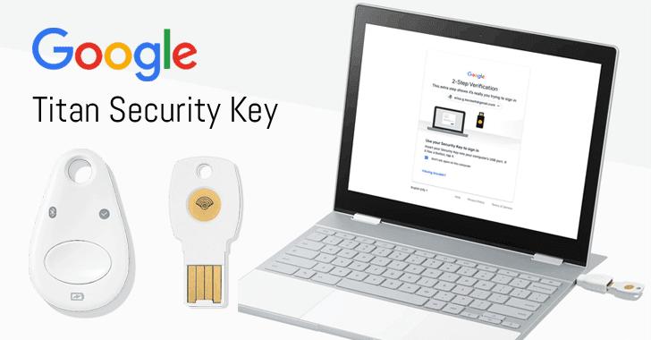 google titan security key fido