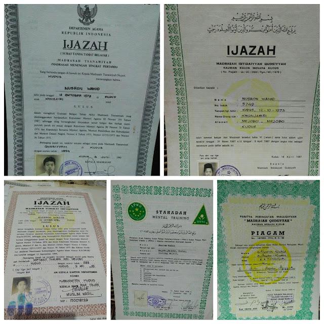 Dokumen Asli Identitas Nusron Wahid