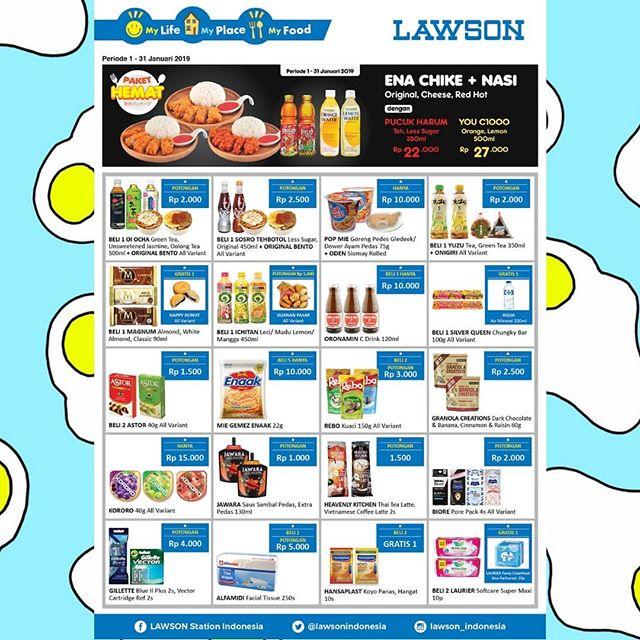 #Lawson - Promo Katalog Periode 01 - 31 Januari 2019