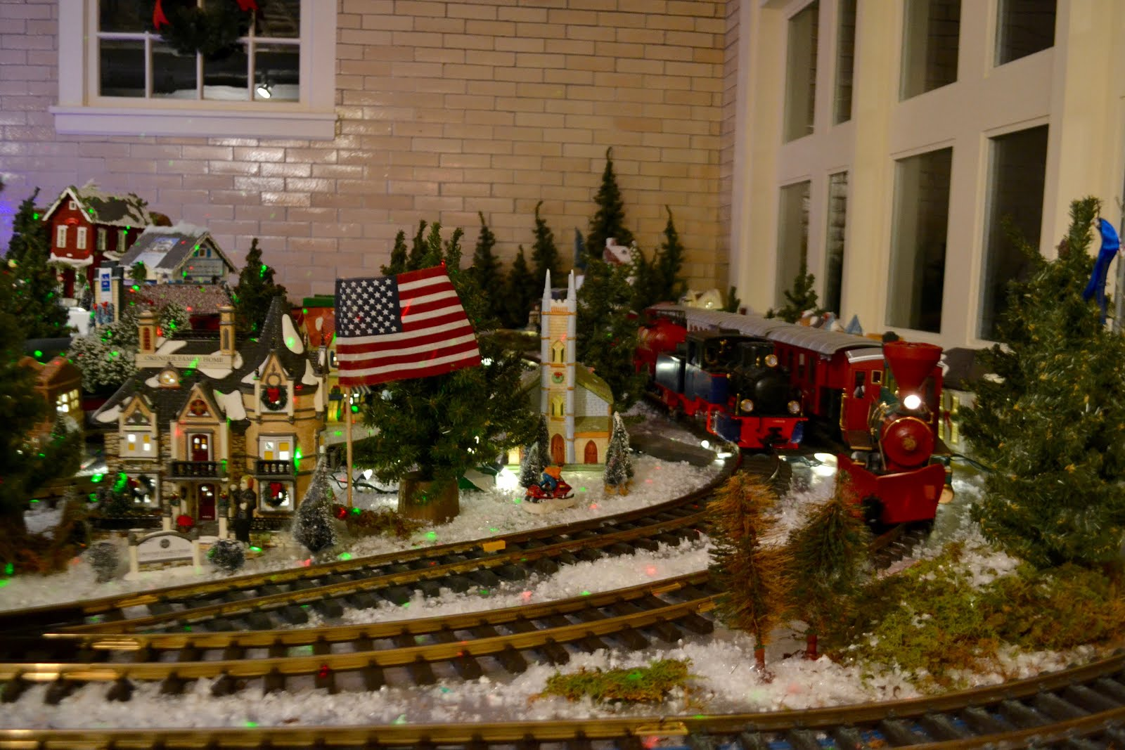 It's All About Purple: Christmas Train Village Spectacular