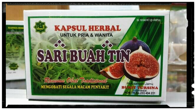 jual sari buah tin kapsul jamu asam urat di surabaya