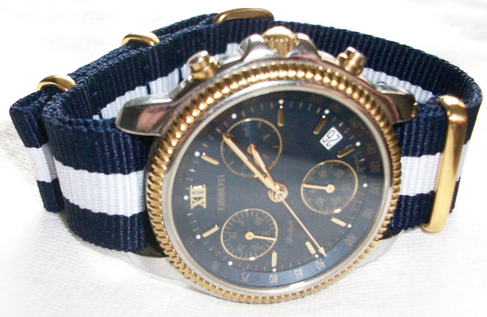 AlStyle76: New Nato Watch Strap by Paul Hewitt