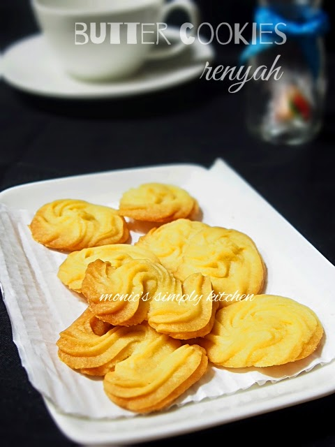 resep butter cookies