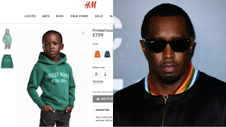 American Rapper, P Diddy Offers The H&M Child Model A Modelling Contract Worth $1Million