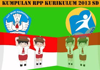 RPP Kelas 4 Kurikulum 2013 Semester 1 SD/MI Semua Tema Dan Sub Tema