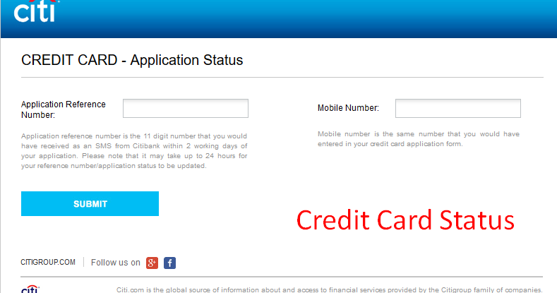 citibank best buy credit card status