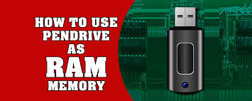 Step by step instructions  To Use a USB Pendrive As RAM