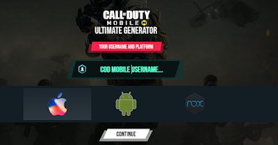 Codpatched com Generate CP COD Mobile 2019