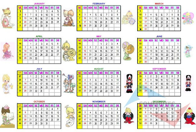 Download Kalender Abadi Excel 2078