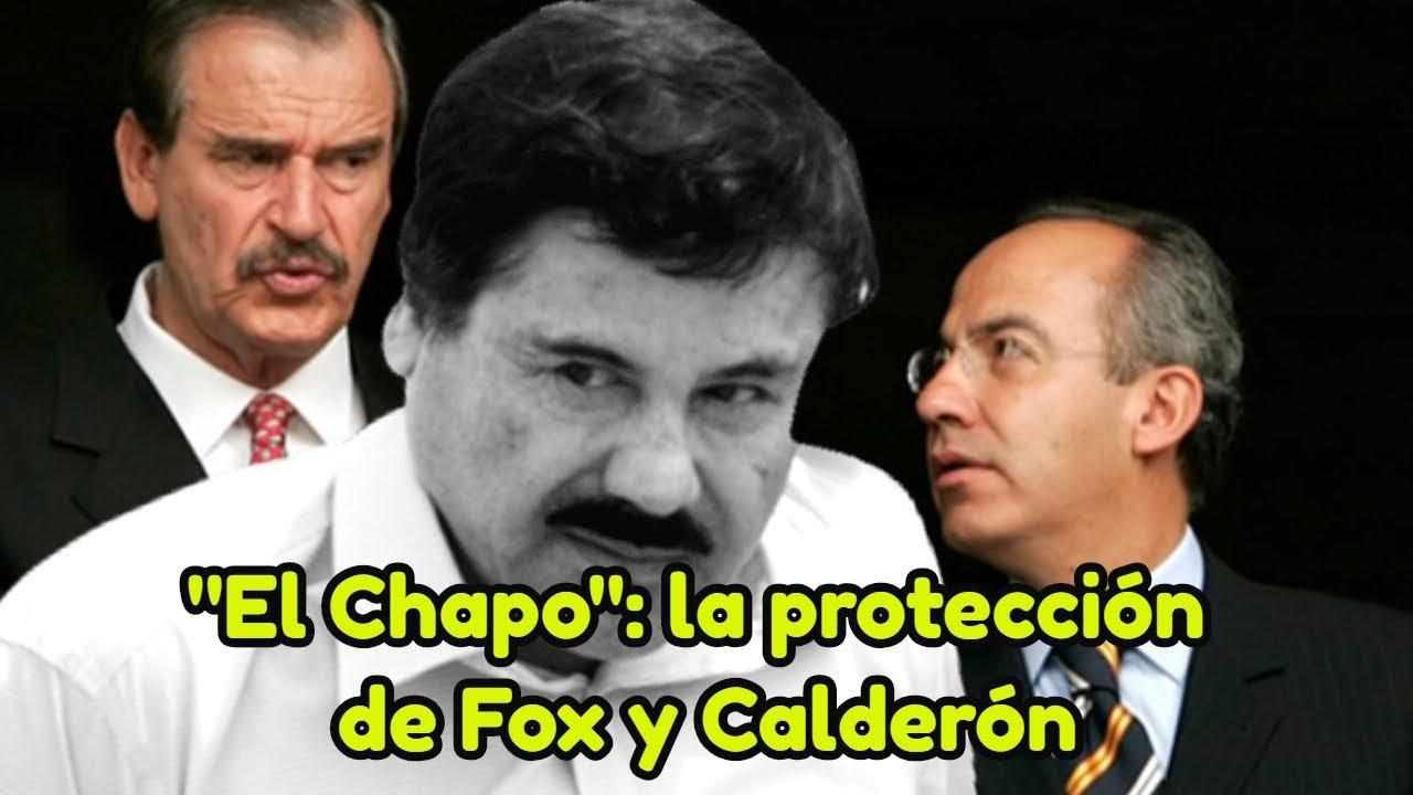 Fox y Calderón, estuvieron en la nomina del Cartel de Sinaloa incluso la DEA y la Policía Federal trabajaban con el Cartel Sinaloense